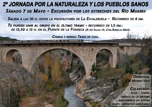 Cartel de la 2ª Jornada por la Naturaleza y los Pueblos Sanos.