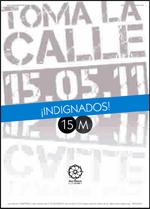 """Portada del libro del movimiento 15 M """"Democracia real Ya"""""""