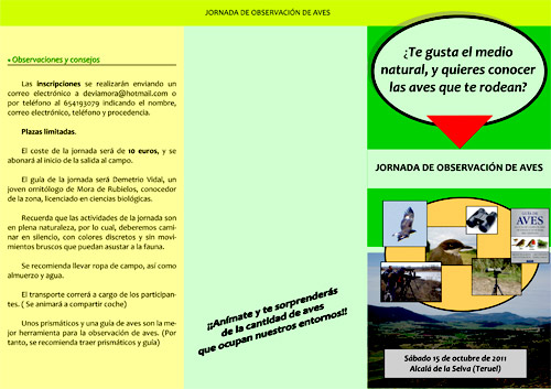 Triptico Jornada Observación Aves_15_10_2011