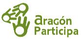 """Logotipo de """"Aragón Participa"""""""