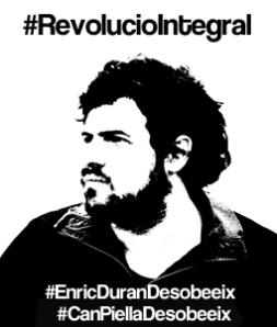 Silueta de Enric Durán