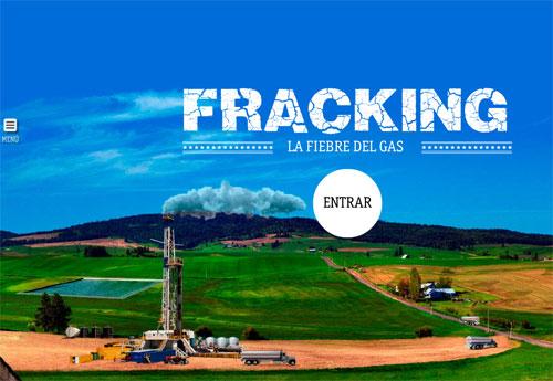 Imagen que enlaza con la aplicación interactiva para conocer el Fracking.