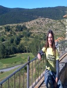 Nuria Alcodorí en Valdelinares - Teruel