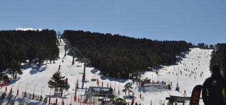Ampliación de las pistas de Valdelinares - Teruel