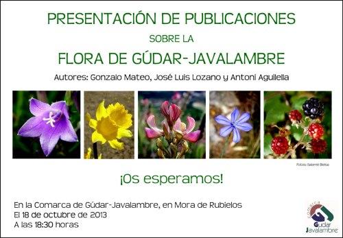 Presentación publicaciones flora Gúdar Javalambre.