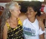 Imagen de mujeres de Ometepe - Nicaragua.