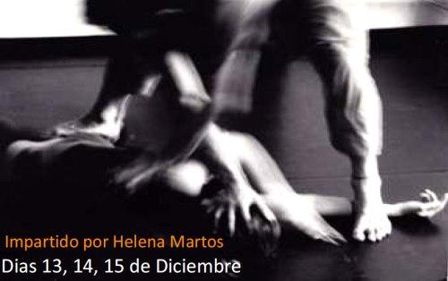 Cartel del laboratorio de Danza en Nogueruelas - Teruel, del 13 al 14 de Diciembre de 2013.